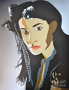 Self Portrait by Cecelia Price