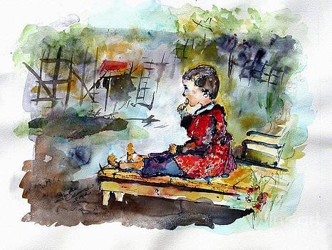 Ginette Callaway - Self Portrait Childhood
