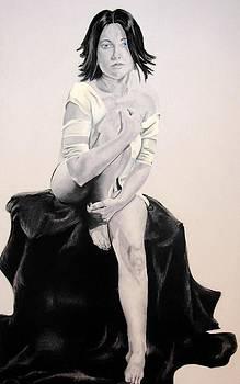 Self-portrait by Corina Bishop