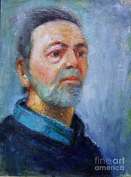 Self portrait by George Siaba