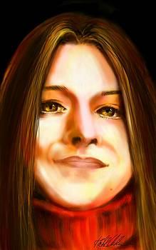 Self Portrait by Kath Urbahn