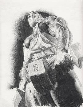 Self Portrait... Kidding by Charles  Bickel