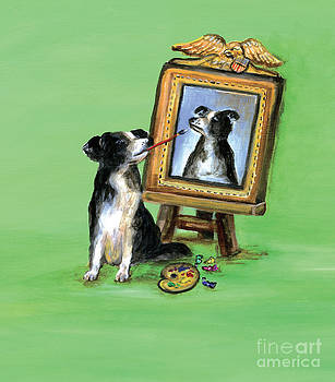 Self Portrait by Kim Arre-gerber