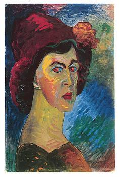 Marianne von Werefkin - Self-Portrait