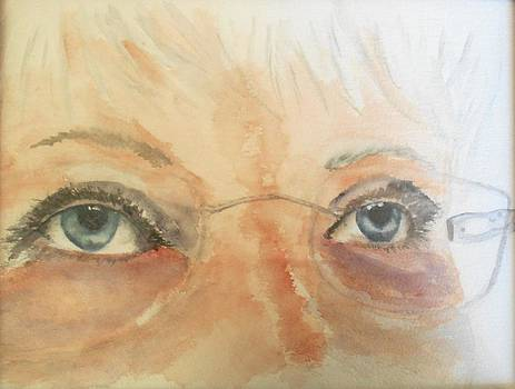 Self Portrait by Maris Sherwood