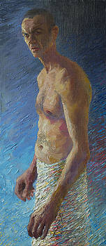 Self Portrait by Misha Lapitskiy
