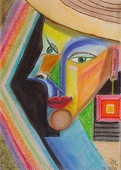 Self-portrait by Nina Mitkova