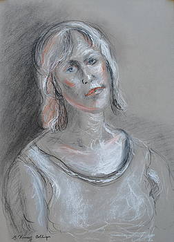 Self Portrait  by Patricia Kimsey Bollinger