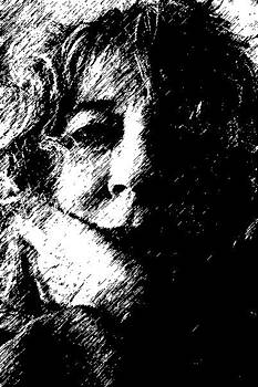 Self-portrait by Penny McClintock
