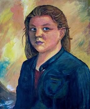 Self Portrait by Samantha Geernaert