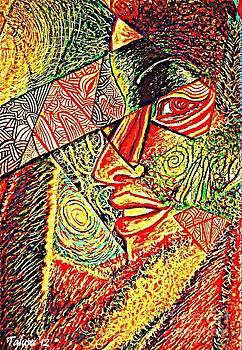 Self Portrait by Teleita Alusa