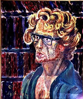 Self-Portrait by Vladimir A Shvartsman