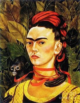 Roberto Prusso - Self Portrait with Monkey