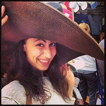 #selfi In A Big #hat #highfashion by Megan Rudman