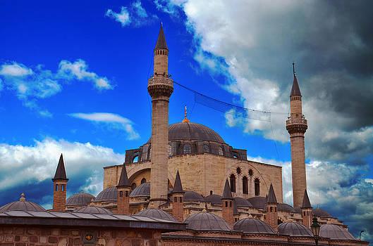 Selimiye Mosque in Konya by Kivanc Ekinci