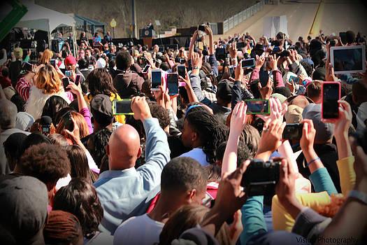 Tracy Brock - Selma 50th Anniversary - crowd photographs President Obama
