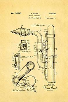 Ian Monk - Selmer Saxophone Patent Art 2 1937