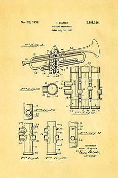 Ian Monk - Selmer Trumpet Patent Art 1939
