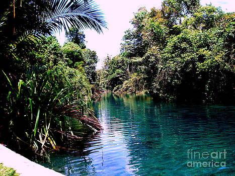 Sembra River.. by Jason Sentuf