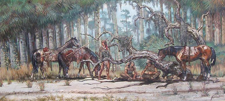 Seminole Gambers by Sheila Tibbs