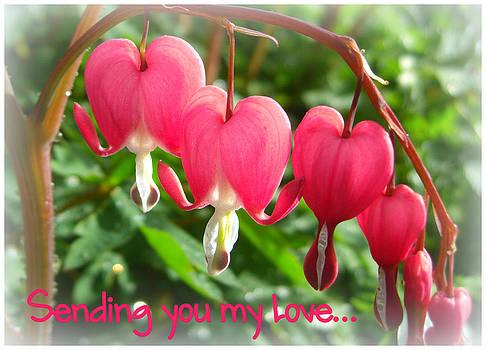 Sending Love card by Heidi Manly