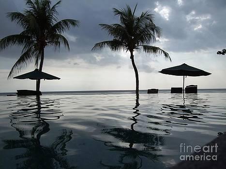 Sengiggi resort view by Crystal Beckmann