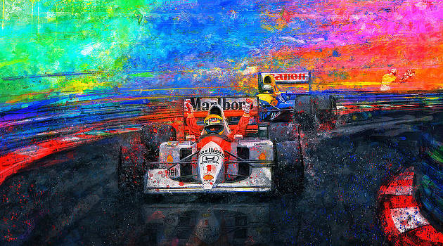 Senna For The Win by Alan Greene