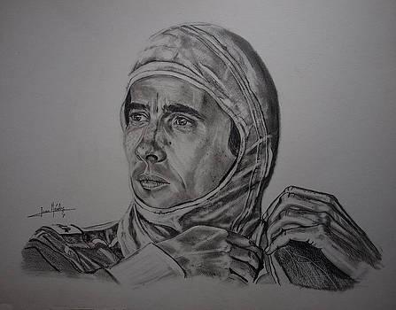Senna The gaze of myth. by Juan Mendez