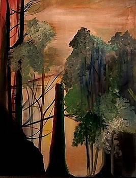 Sentinal At Dawn by Gregory Dallum