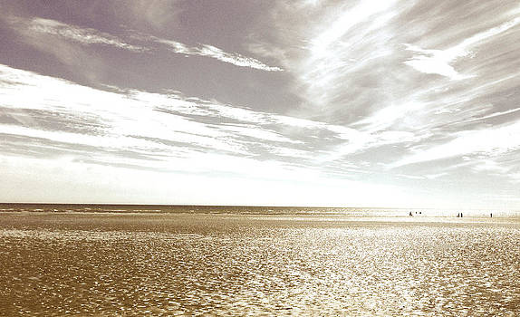 Sepia Beach by Andi Oakes