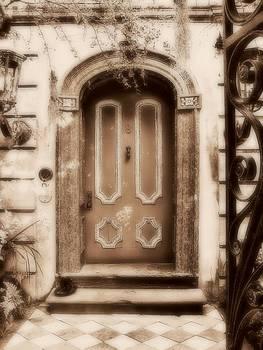 Sepia Door by Emma Bjorn