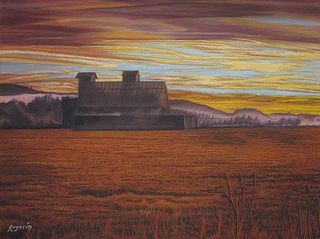 Sepia Sunset by Harvey Rogosin