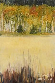 September Near Jackson Hole by Marlene Petersen