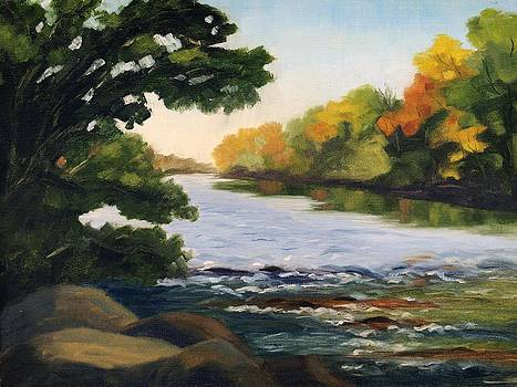 September on the Platte River by Julia Grundmeier