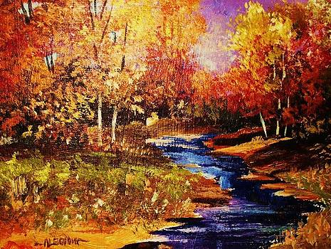 The Brilliance of Autumn by Al Brown