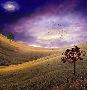 Serene Landscape by Bruce Rolff