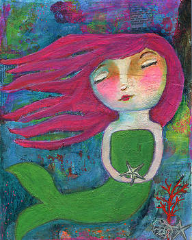 Serene Mermaid by Lynda Metcalf