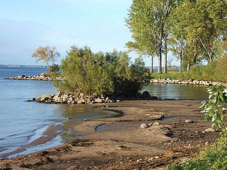 Serene Shores of The St. Lawrence by Margaret McDermott