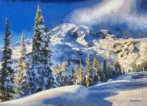 Serene Winter Snow by Elizabeth Coats