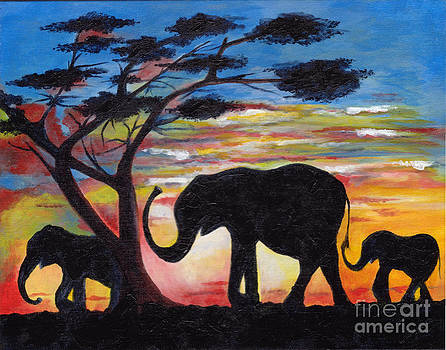 Serengetti by Jacalyn Hassler Yurchuck