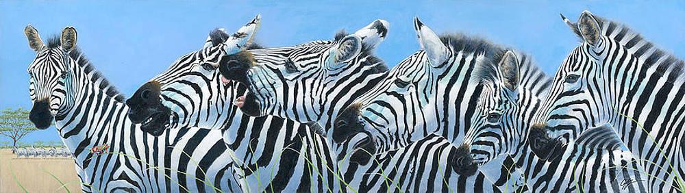 Serengeti Serenade by Durwood Coffey