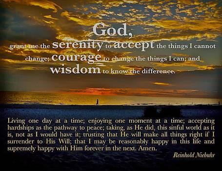 The Serenity Prayer by Mark Behrens