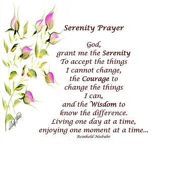 Serenity Prayer by Shirley Fisher