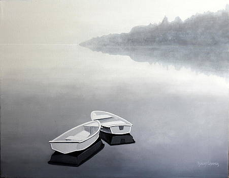 Serenity Reflections number eight by Robert Crooker