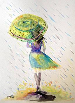 Patricia Lazaro - Serenity walking under Rain