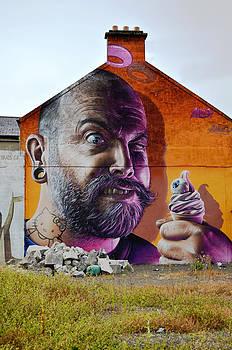 Serious Wall Art by Richard Ortolano