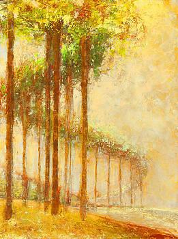 Kathleen  Mrachek - Serpentine Trees