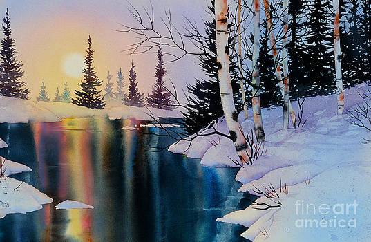 Setting Sun by Teresa Ascone