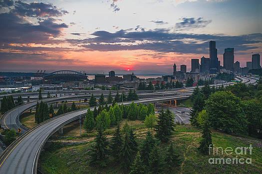 Gene Garnace - Seattle Sunset