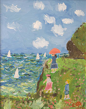 Seurat The Ocean Recreation by Ethan Altshuler